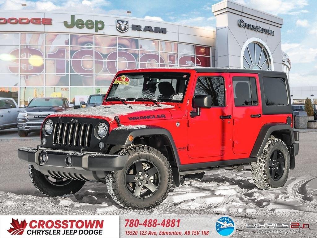2017 Jeep Wrangler Unlimited SUV