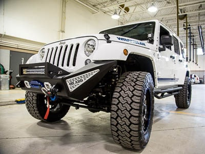 2015 JEEP WRANGLER UNLIMITED - Front Quarter View