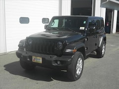 New 2020 Jeep Wrangler UNLIMITED SPORT S 4X4 Sport Utility Littleton NH