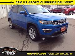Certified Pre-Owned 2019 Jeep Compass Latitude 4x4 SUV Littleton, NH