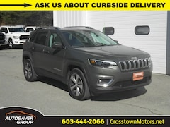 Certified Pre-Owned 2019 Jeep Cherokee Limited 4x4 SUV Littleton, NH
