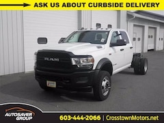New 2019 Ram 5500 Chassis Cab 5500 TRADESMAN CHASSIS CREW CAB 4X4 173.4 WB Crew Cab Littleton NH
