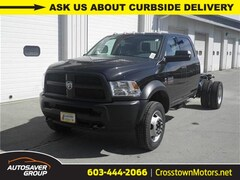 New 2018 Ram 5500 Chassis Cab 5500 TRADESMAN CHASSIS CREW CAB 4X4 173.4 WB Crew Cab Littleton NH
