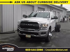 New 2019 Ram 3500 Chassis Cab 3500 TRADESMAN CHASSIS REGULAR CAB 4X4 167.5 WB Regular Cab Littleton NH