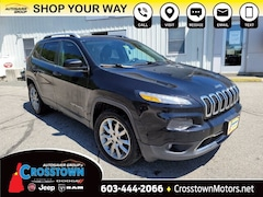 New 2018 Jeep Cherokee Limited 4x4 SUV littleton NH