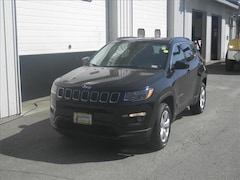Certified Pre-Owned 2018 Jeep Compass Latitude 4x4 SUV Littleton, NH