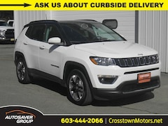 Certified Pre-Owned 2019 Jeep Compass Limited 4x4 SUV Littleton, NH