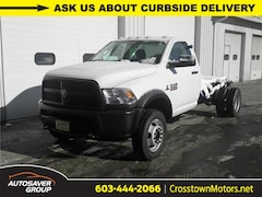 New 2018 Ram 5500 Chassis Cab 5500 TRADESMAN CHASSIS REGULAR CAB 4X4 168.5 WB Regular Cab Littleton NH