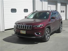 New 2019 Jeep Cherokee LIMITED 4X4 Sport Utility Littleton NH
