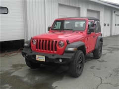 New 2019 Jeep Wrangler SPORT 4X4 Sport Utility Littleton NH