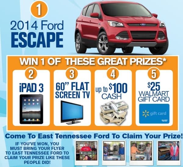 Prizes for Keep it cool Crossville