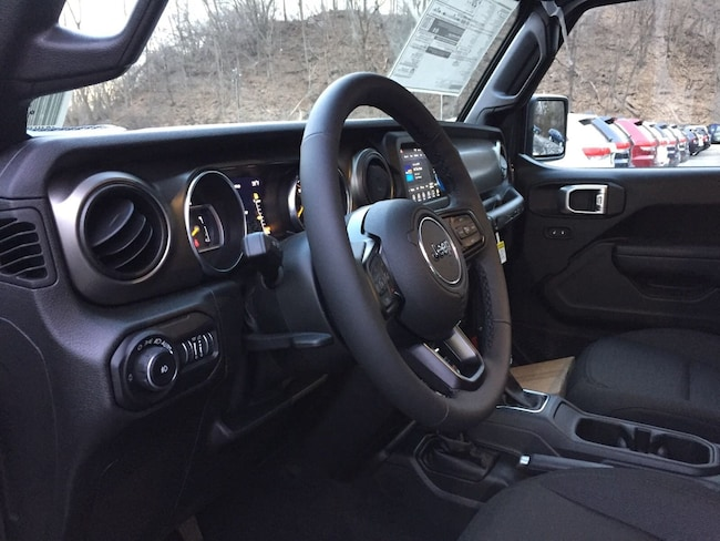 New 2019 Jeep Wrangler UNLIMITED SPORT S 4X4 Sport Utility near White Plains