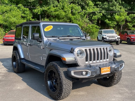 2018 Jeep Wrangler Unlimited Sahara Sahara 4x4