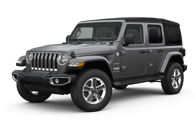New 2018 Jeep Wrangler UNLIMITED SAHARA 4X4 Sport Utility near White Plains