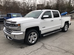 Used 2016 Chevrolet Silverado 1500 LTZ 4WD Crew Cab 143.5 LTZ w/1LZ in White Plains