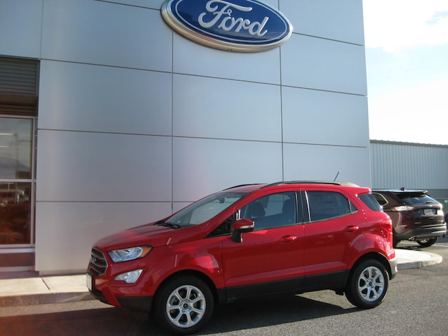 New 2018 Ford EcoSport SE Crossover Taneytown