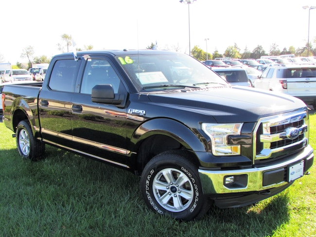 2016 Ford F-150 SuperCrew XLT Crew Cab