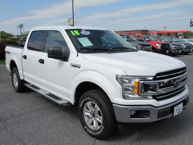 Used 2018 Ford F-150 XLT Truck Crew Cab Taneytown