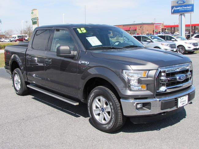 Used 2015 Ford F-150 XLT Truck SuperCrew Cab Taneytown