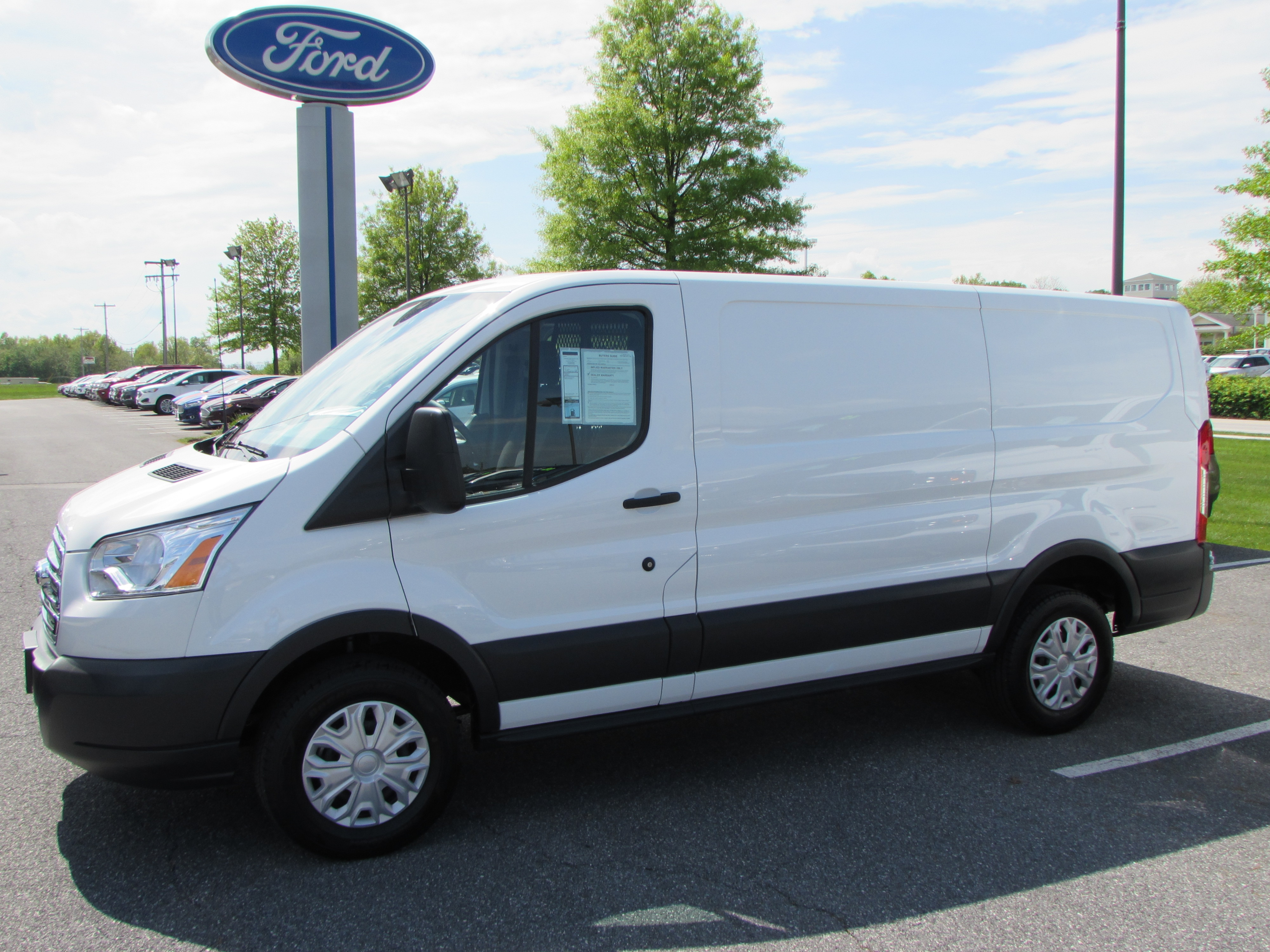 2018 Ford Transit Commercial Cargo Van Commercial-truck