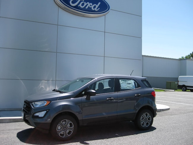 New 2019 Ford EcoSport S Crossover Taneytown