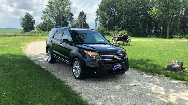 2013 Ford Explorer Limited 4WD SUV