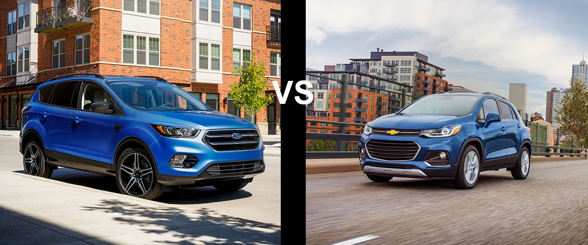 2019 Ford Escape Vs Chevy Trax Crowe Ford Sales Company