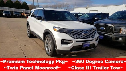 2020 Ford Explorer Platinum AWD SUV