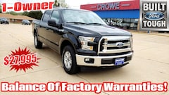 2017 Ford F-150 XLT SuperCrew 4WD Crew Cab Short Bed Truck