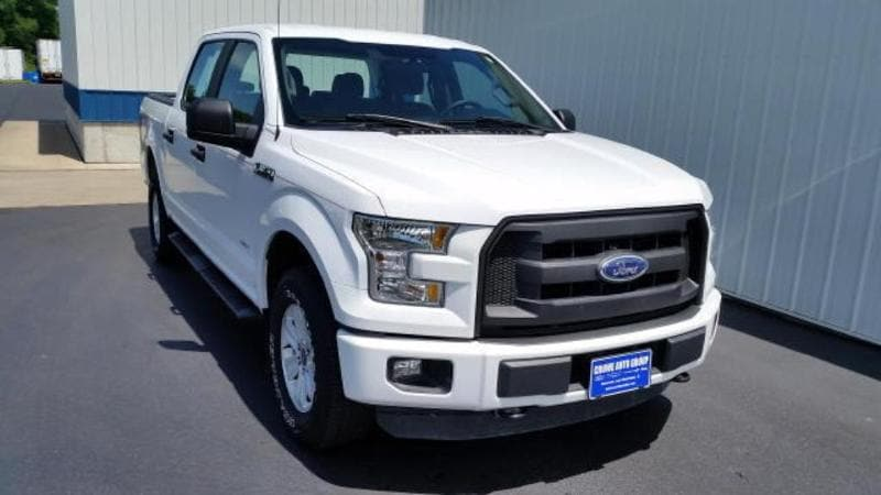 2015 Ford F-150 XL SuperCrew 4WD Crew Cab Short Bed Truck