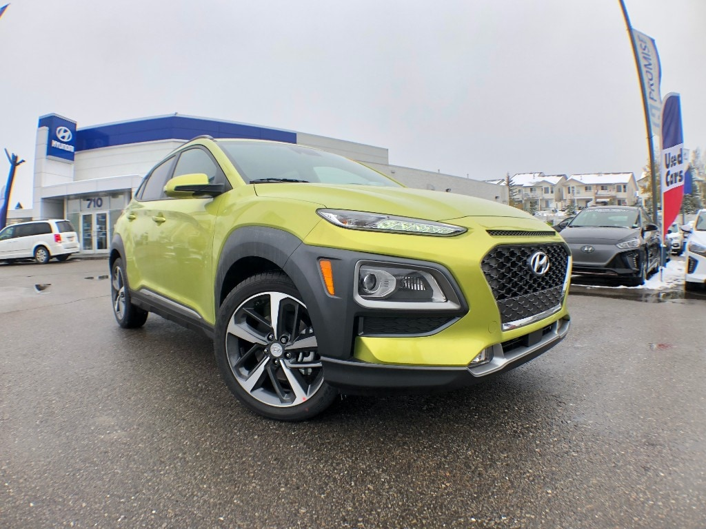2019 Hyundai KONA 1.6T Ultimate w/Lime Colour Pack SUV