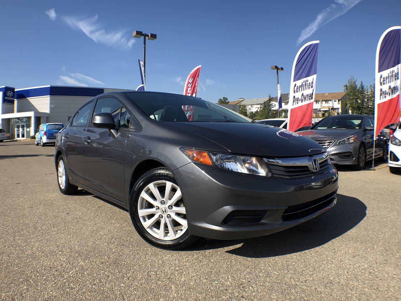 2012 Honda Civic EX (M5) Sedan