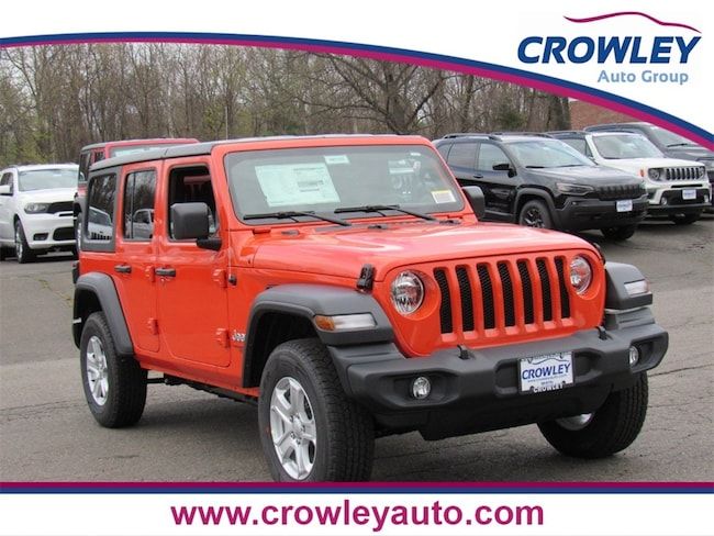 New 2019 Jeep Wrangler UNLIMITED SPORT S 4X4 Sport Utility for sale/lease Bristol, CT