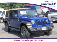 2020 Jeep Wrangler UNLIMITED BLACK AND TAN 4X4 Sport Utility in Bristol, CT