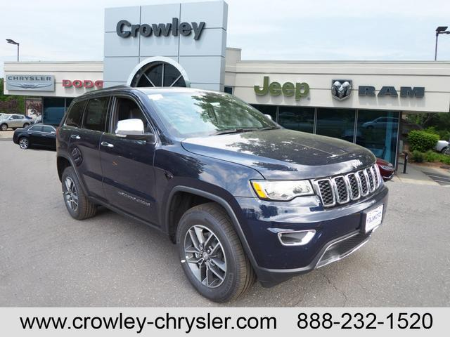 New 2018 Jeep Grand Cherokee LIMITED 4X4 Sport Utility For Sale/lease  Bristol, CT