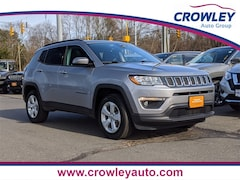 Certified Pre-Owned 2018 Jeep Compass Latitude SUV 3C4NJDBB6JT176239 19911A in Bristol, CT