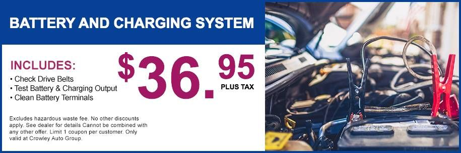 crowley nissan service coupons