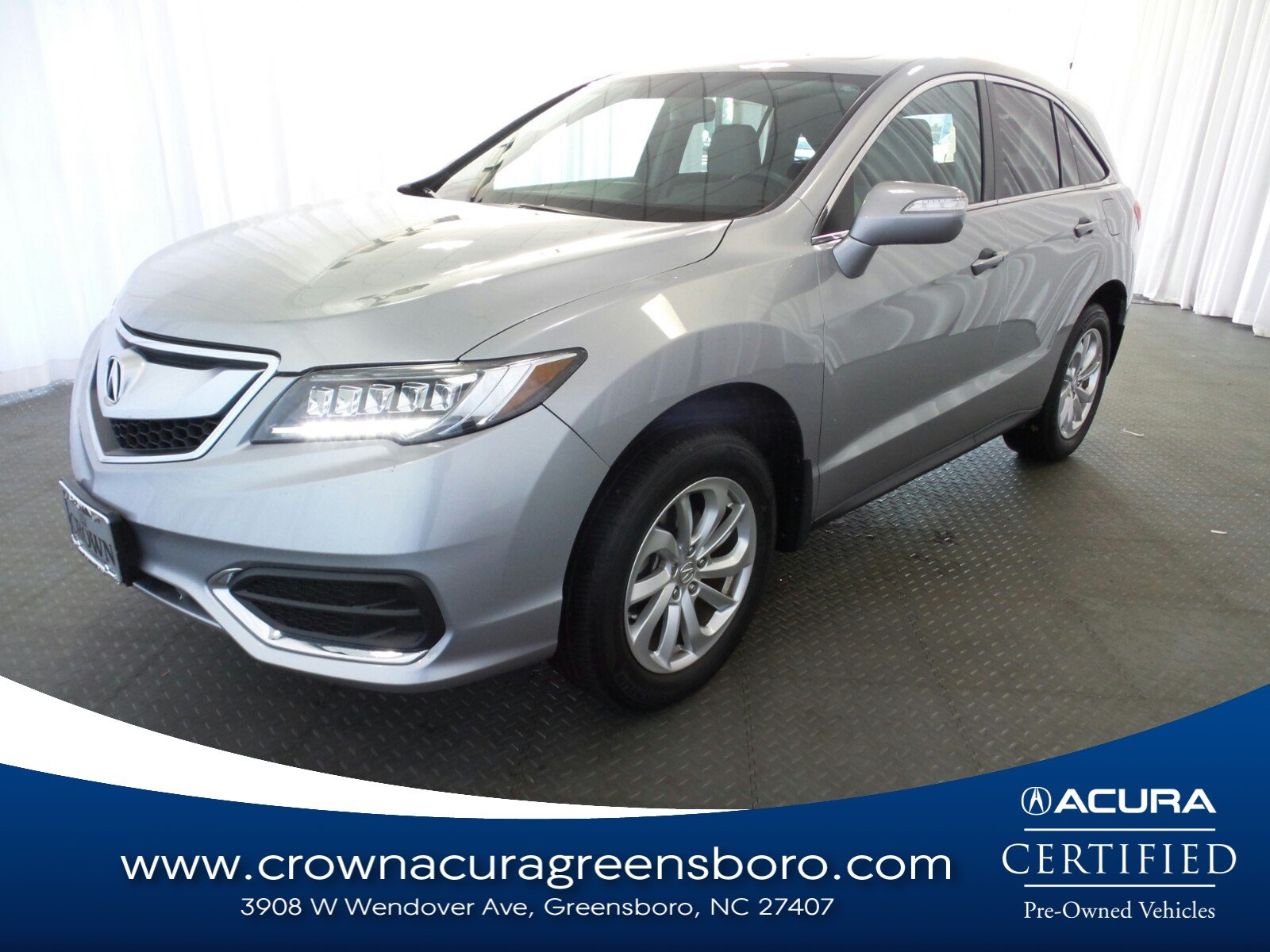 2017 Acura RDX Base CERTIFIED FWD