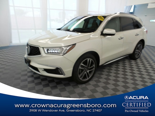 Acura Of Fayetteville >> Used 2017 Acura Mdx For Sale At Crown Dodge Of Fayetteville Vin