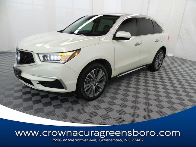 Acura Of Fayetteville >> Used 2017 Acura Mdx For Sale At Crown Ford Fayetteville Vin