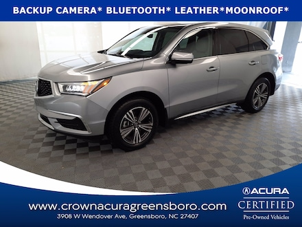 2017 Acura MDX 3.5L CERTIFIED SUV