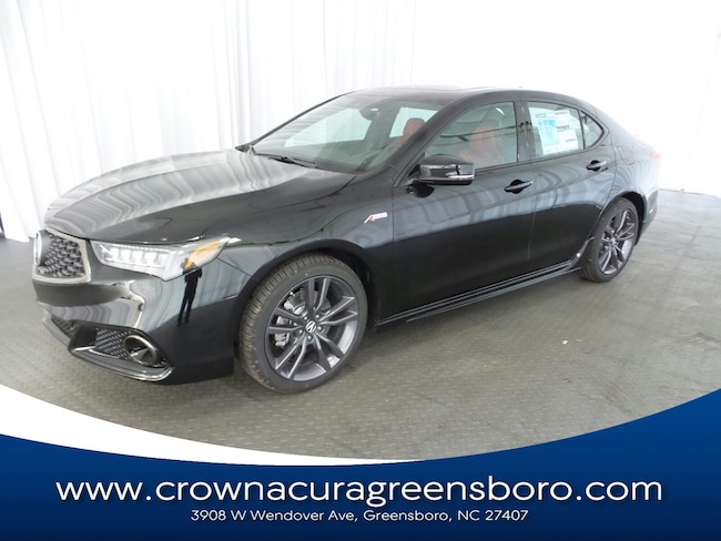 2019 Acura TLX 3.5 V-6 9-AT P-AWS with A-SPEC RED Sedan