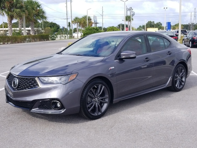2019 Acura TLX w/A-Spec Pkg Red Leather 3.5L FWD w/A-Spec Pkg Red Leather