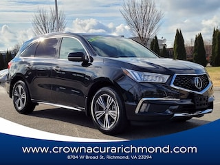 2018 Acura MDX V6 SH-AWD with Advance & Entertainment Packages SUV