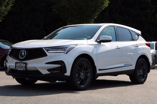 new 2021 acura rdx shawd with aspec package for sale