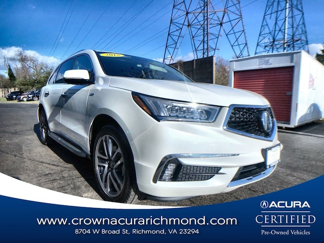 2018 Acura MDX Sport Hybrid V6 SH-AWD with Advance Package SUV