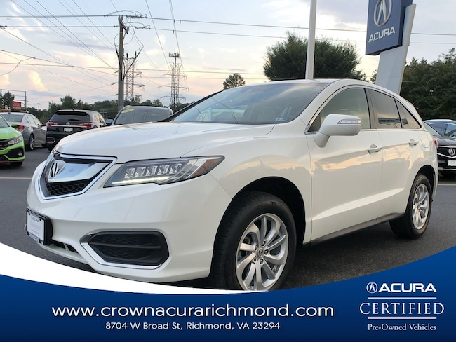 2017 Acura RDX V6 AWD with Technology Package and AcuraWatch Plus SUV