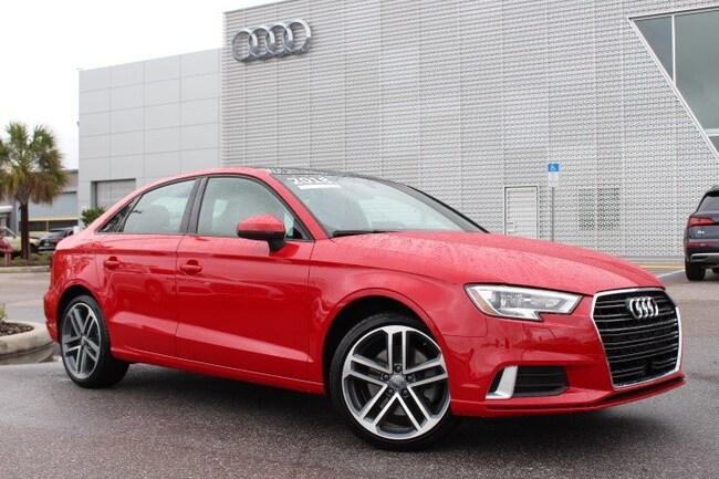 2018 Audi A3 Sedan Premium 2.0 TFSI Premium FWD