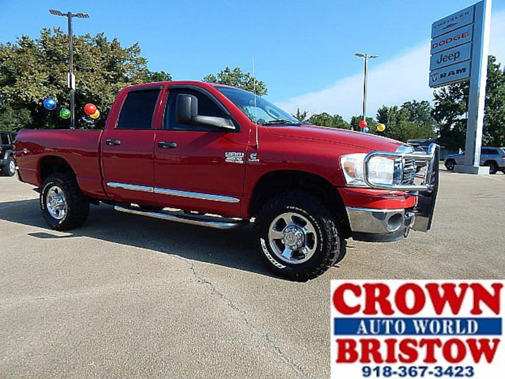 Used 2008 Dodge Ram 2500 For Sale in Bristow OK | 18525B