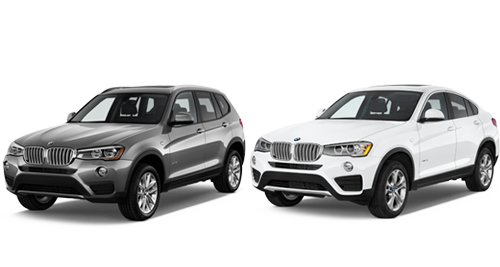 2016 BMW X3 And X4